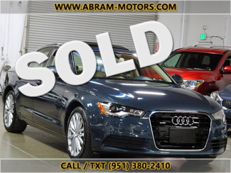 2014 Audi A6 3.0T Premium Plus - 1 OWNER -  in Murrieta CA