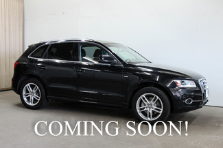 2014 Audi Q5 3.0T Quattro AWD with Navigation Plus Pkg, ang & Olufsen Audio, Side Assist & 19