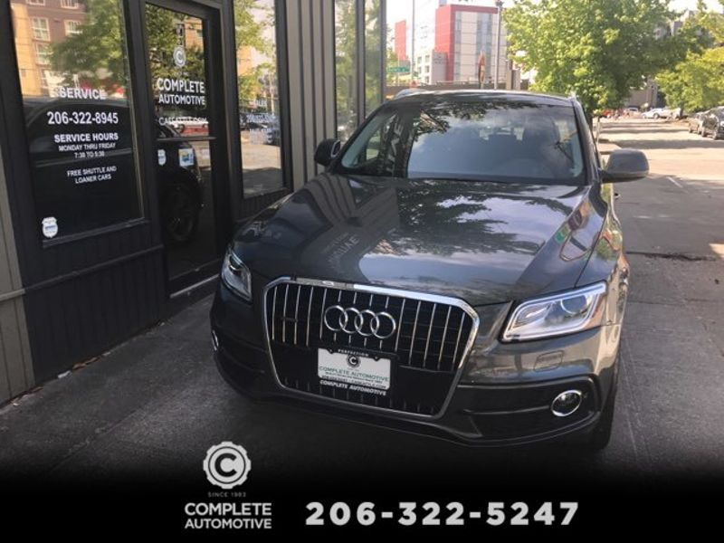 2014 Audi Q5 30T 272 HP V6 Quattro Prestige S Line Packages Rear Camera Navigation Bang  Olufsen Sound  city Washington  Complete Automotive  in Seattle, Washington