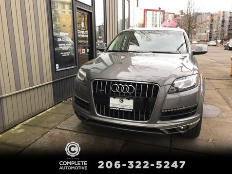 2014 Audi Q7 3.0T Premium Plus Package 7 Passenger Cold Weather Navigation Rear Camera Tow 20