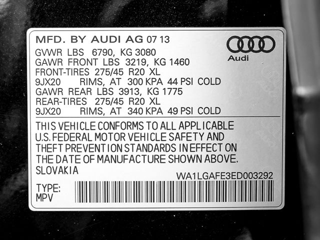 2014 Audi Q7 3.0T Premium Plus Burbank, CA 40