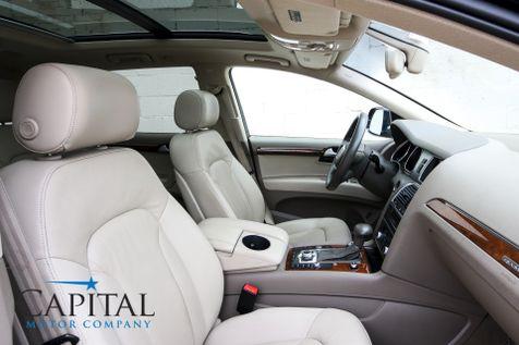 2014 Audi Q7 Quattro Premium Plus TDI Clean Diesel w/ 3rd Row Seats, Navigation, Heated Seats & Tow Pkg in Eau Claire