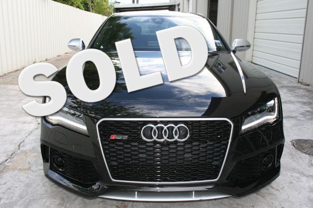 2014 Audi RS 7 Prestige Houston, Texas 0