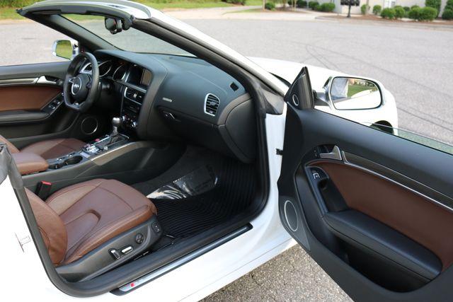 2014 Audi S5 Cabriolet Premium Plus Mooresville, North Carolina 29