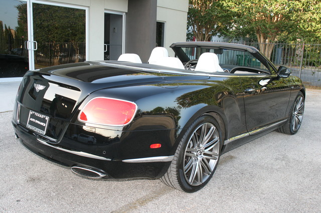 2014 Bentley Continental GTC  Speed Convertible Houston, Texas 11