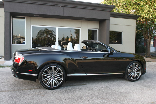 2014 Bentley Continental GTC  Speed Convertible Houston, Texas 12