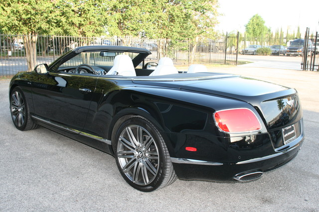 2014 Bentley Continental GTC  Speed Convertible Houston, Texas 13
