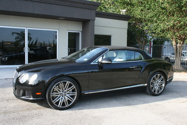 2014 Bentley Continental GTC  Speed Convertible Houston, Texas 3