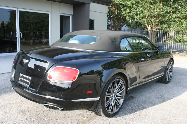 2014 Bentley Continental GTC  Speed Convertible Houston, Texas 5