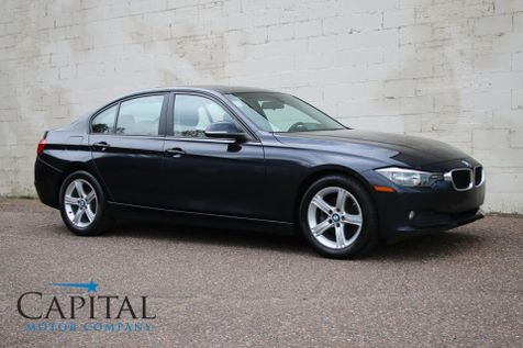2014 BMW 320xi xDrive AWD Turbo Sport Sedan with Backup Cam, Moonroof and Heated Seats in Eau Claire