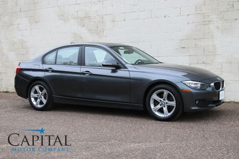 2014 BMW 320xi xDrive AWD Turbo Sport Sedan w/Heated Seats, Moonroof, Bluetooth & HiFi Audio in Eau Claire