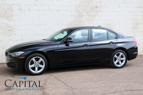 2014 BMW 320xi xDrive AWD Turbo with Heated Seats, Moonroof, HiFi Audio, Bluetooth & Gets 35MPG in Eau Claire