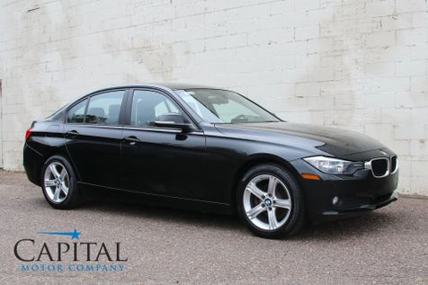 2014 BMW 328d xDrive AWD Clean Diesel Sport Sedan w/Navigation, Backup Cam & Heated Front/Rear Seats in Eau Claire