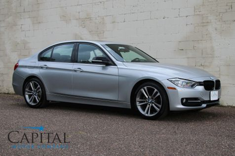 2014 BMW 328d xDrive AWD Clean Diesel w/Sport Pkg, Cold Weather Pkg, Bluetooth Audio & 18