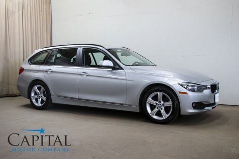 2014 BMW 328d xDrive AWD Clean Turbo Diesel Sport Wagon w/Panoramic Roof, Heated Seats & Gets 43 MPG in Eau Claire