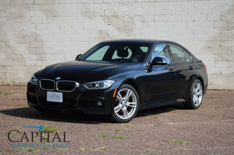 2014 BMW 328d xDrive AWD Turbo Diesel M-SPORT w/Navigation, Tech Pkg & Bluetooth Audio in Eau Claire