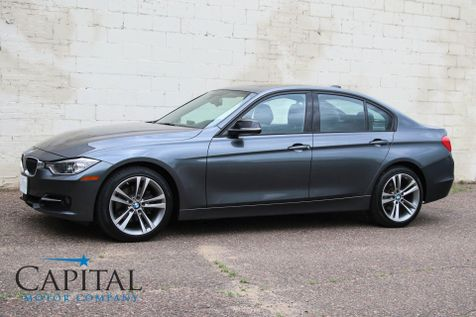 2014 BMW 328d xDrive AWD Turbo Diesel Sport Line with Tech Pkg, Dynamic Handling Pkg & Harmon/Kardon Audio in Eau Claire
