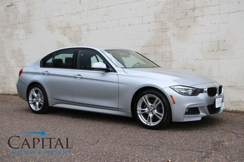 2014 BMW 328d xDrive AWD Turbo Diesel with M-Sport Package, Heated Seats & Gets 43MPG in Eau Claire