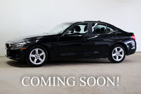 2014 BMW 328d xDrive AWD Diesel with Navigation, Backup Cam, Heated Front/Rear Seats & Gets 43MPG in Eau Claire