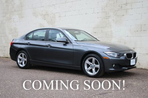 2014 BMW 328xi xDrive AWD Turbo Sport Sedan w/Navigation, Heated Seats & Steering Wheel & Bluetooth Audio in Eau Claire
