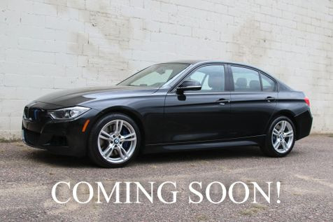 2014 BMW 335xi xDrive AWD Turbo Sport Sedan with M-SPORT Pkg, Navigation and Harman/Kardon Audio in Eau Claire
