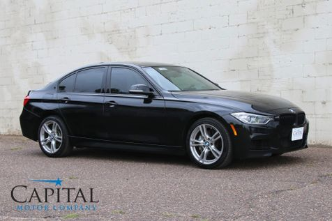 2014 BMW 335xi xDrive M-SPORT with Navigation, Tech Pkg, Harman/Kardon Audio & Cold Weather Pkg in Eau Claire