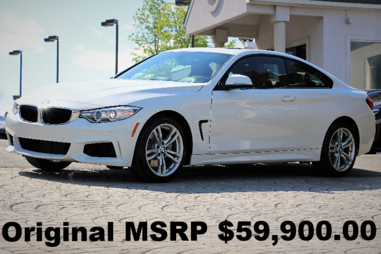 2014 m sport pkg technology pkg navigation rear camera white auto awd perfect used bmw 4. Black Bedroom Furniture Sets. Home Design Ideas