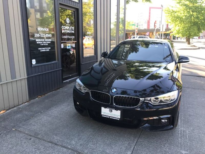 2014 BMW 435i Convertible M-Sport Lighting Premium  Driving Assist Rear Camera Navigation HK Sound  city Washington  Complete Automotive  in Seattle, Washington