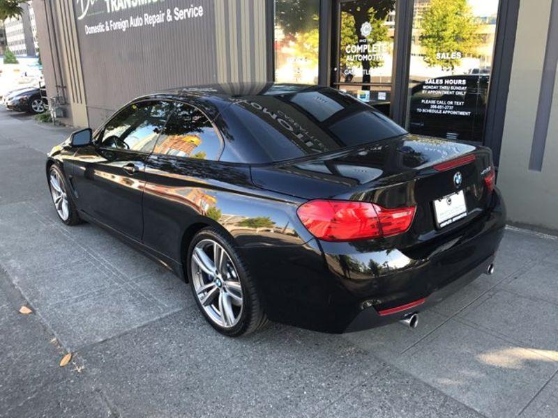 2014 BMW 435i Convertible M-Sport Lighting Premium  Driving Assist Rear Camera Navigation HK Sound  city Washington  Complete Automotive  in Seattle, Washington