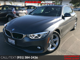 2014 BMW 428i - DRIVERS ASSIT PKG - R. CAM - WARRANTY  | Corona, CA | Premium Autos Inc. in Corona CA