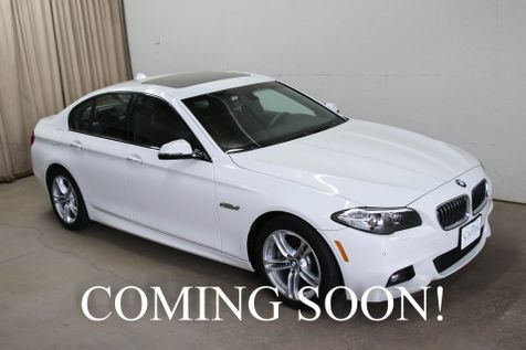 2014 BMW 528xi xDrive AWD M-SPORT with Navigation, Cold Weather Pkg, Premium Audio & Incredible Interior in Eau Claire