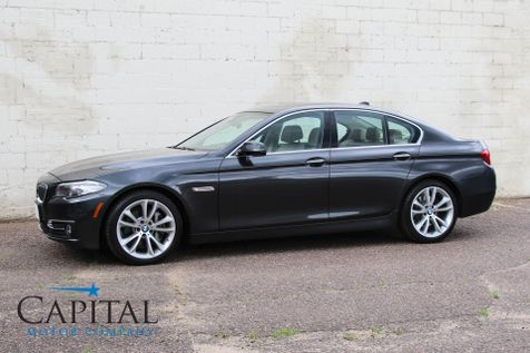 2014 BMW 535d xDrive AWD Clean Diesel w/Navigation, Rear-View Cam, Harman/Kardon Audio & 19