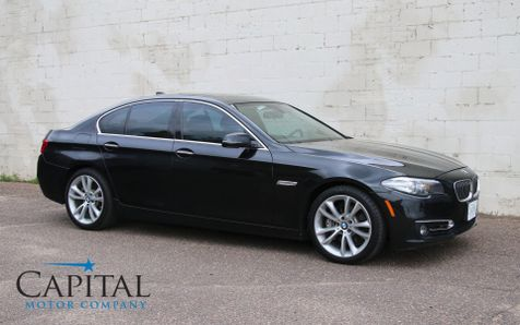 2014 BMW 535d xDrive AWD Clean Diesel with Navigation, Backup Cam, Head-Up Display & 19