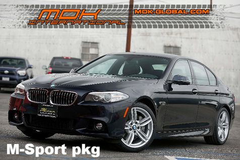 2014 BMW 535i - M sport - Top view + side view cams in Los Angeles