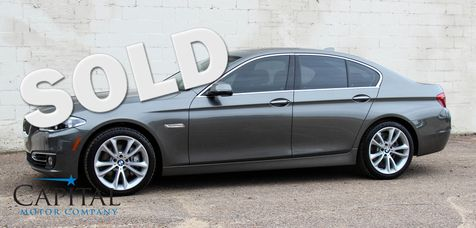 2014 BMW 535xi xDrive AWD w/Navigation, Cold Weather Pkg, LED Headlights, Bluetooth Streaming Audio in Eau Claire