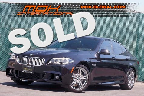 2014 BMW 550i - M Sport - Bang&Olufsen - Salvage Title in Los Angeles