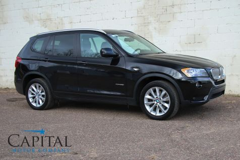 2014 BMW X3 xDrive AWD Turbo Sport Crossover w/Navigation, Backup Cam, Heated Seats and Panoramic Moonroof in Eau Claire