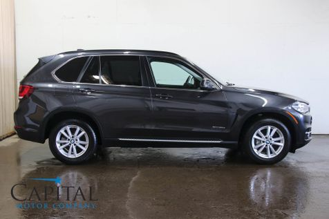 2014 BMW X5 xDrive35d AWD Diesel Gets 30+ MPG w/Navigation, Backup Cam, Panoramic Roof & Bluetooth Audio in Eau Claire