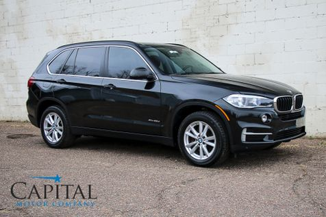 2014 BMW X5 xDrive35d AWD Diesel Luxury SUV w/Navigation, Backup Cam, Panoramic Moonroof & Bluetooth Audio in Eau Claire