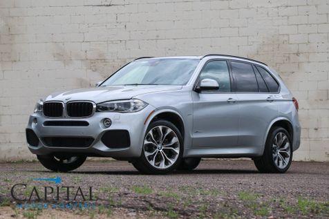 2014 BMW X5 xDrive35d AWD Diesel w/M-Sport Pkg, Navigation, Driver Assist Pkg, Harman/Kardon Audio & 20