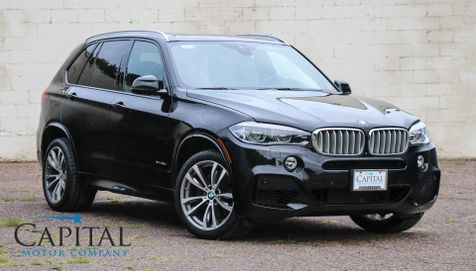 2014 BMW X5 xDrive50i AWD V8 Sport SUV w/M-SPORT Pkg, Tech Pkg, Executive Pkg, LED Lights & 20