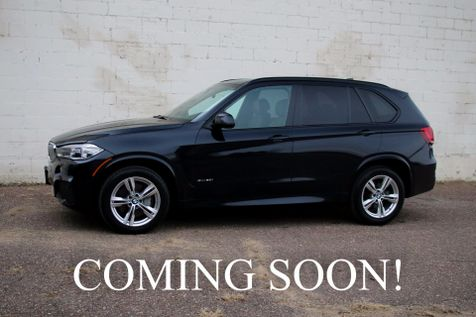 2014 BMW X5 xDrive50i AWD Twin Turbo SUV w/M-Sport Pkg Navigation, Backup Cam & Heated Seats in Eau Claire