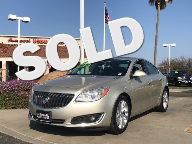 2014 Buick Regal Premium I Youll have change leftover when filling up this fuel efficient ride