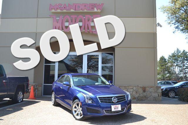 2014 Cadillac ATS Luxury AWD | Arlington, Texas | McAndrew Motors in Arlington Texas