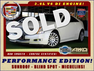 2014 Cadillac CTS Coupe Performance Edition AWD - SUNROOF - MICHELINS! Mooresville , NC
