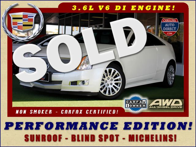 2014 Cadillac CTS Coupe Performance Edition AWD - SUNROOF - MICHELINS! Mooresville , NC 0