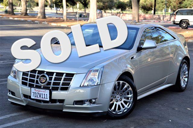 2014 Cadillac CTS Coupe Premium Reseda, CA 0