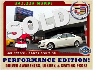 2014 Cadillac CTS Sedan Performance RWD -  DRIVER AWARENESS & LUXURY PKGS! Mooresville , NC