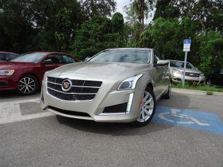 2014 Cadillac CTS Sedan Luxury AWD. PANORAMIC. NAVIGATION SEFFNER, Florida