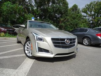 2014 Cadillac CTS Sedan Luxury AWD. PANORAMIC. NAVIGATION SEFFNER, Florida 8
